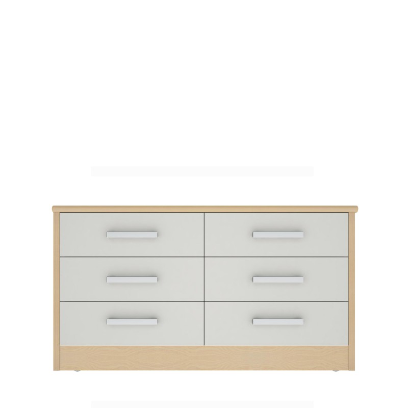Linea Collection 6 Drawer Chest