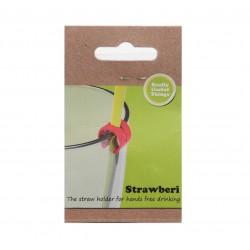 Strawberi Straw Holder
