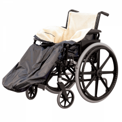 Homecraft Wheelchair Cosy pictured on wheelchair sold separately.