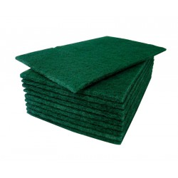 Green Scouring Pads - x10