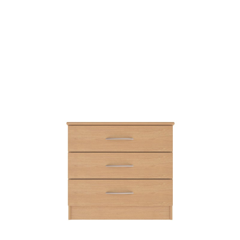 Classic Collection 3 Drawer Wide Chest